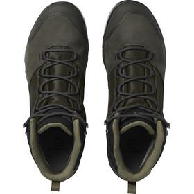 Salomon OUTward GTX Zapatillas Hombre, peat/black/burnt olive